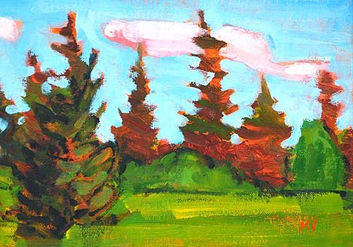 McCall Idaho Plein Air Painting