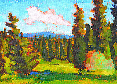 McCall Idaho Landscape Painting
