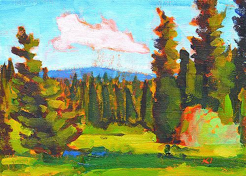 McCall Idaho Landscape Painting