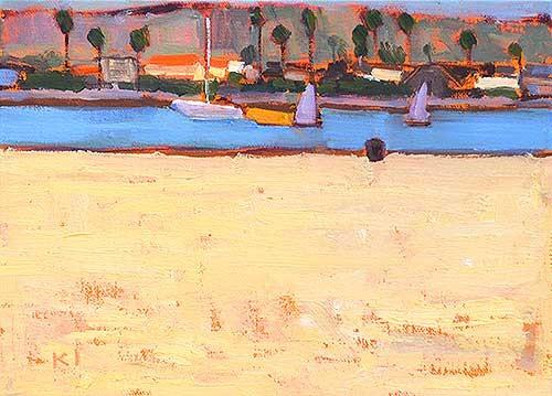 Ocean Beach Painting Kevin Inman Plein Air