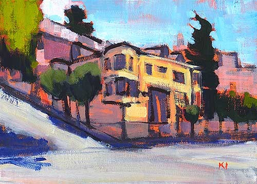 San Francisco Painting Russian Hill Kevin Inman