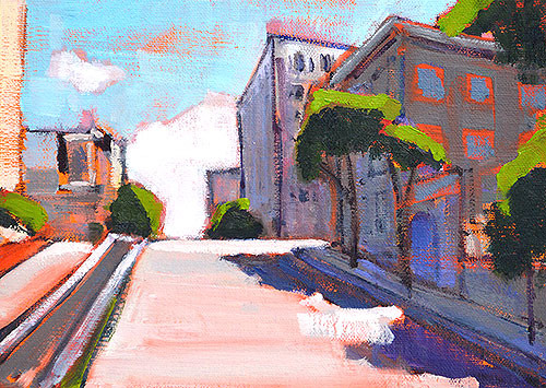 Russian Hill San Francisco Painting