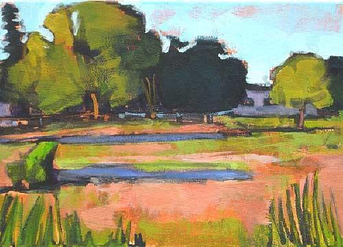 Boise Idaho Farm Landscape Painting Kevin Inman