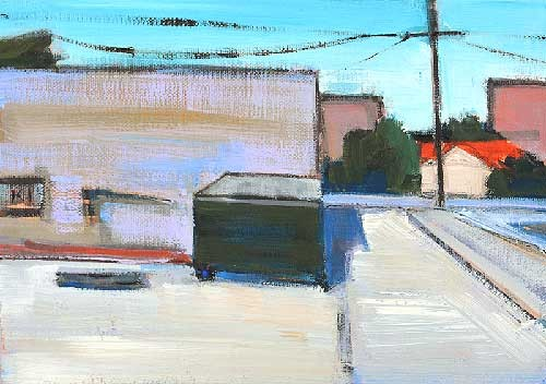 San Diego Alley Painting Dumpster Hillcrest