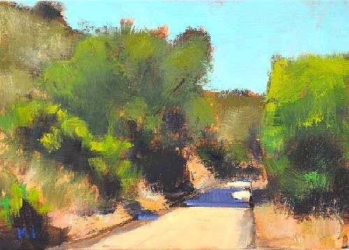 Laguna Canyon Landscape Painting Kevin Inman