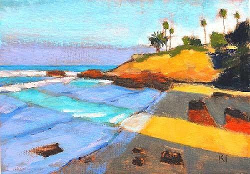 Laguna Beach Heisler Park Painting