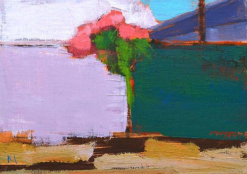 Bougainvillea Painting San Diego Kevin Inman