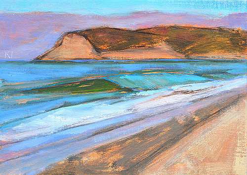 Coronado Beach Painting Plein Air