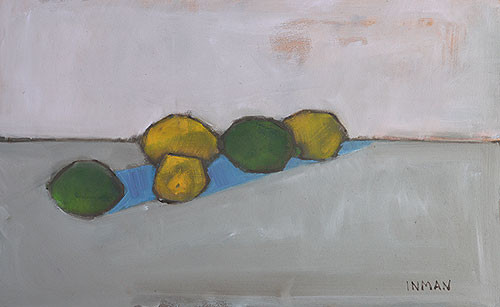 Lemons and Limes Still Life Painting Kevin Inman
