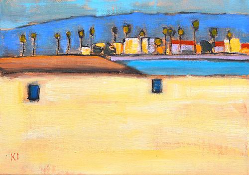 Ocean Beach Painting San Diego OB by Kevin Inman