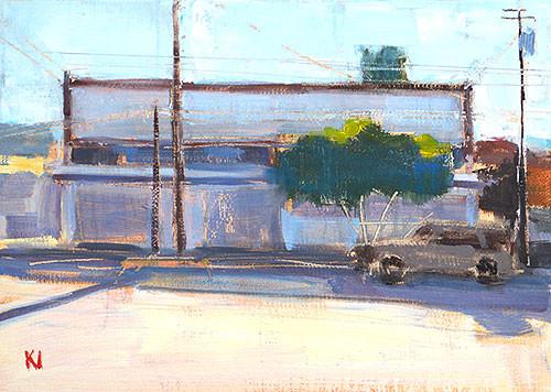 Tijuana Original Oil Painting Kevin Inman