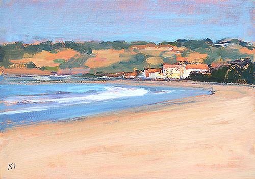 Coronado Beach Painting Kevin Inman
