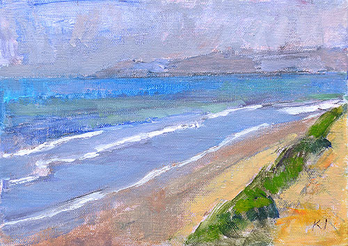 Del Mar Landscape Painting Kevin Inman
