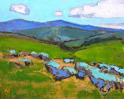 Boise Summer Landscape Painting