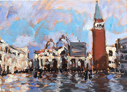 Acqua Alta, Piazza San Marco, Venezia