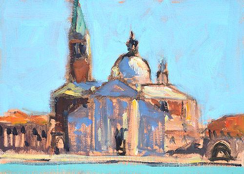 San Giorgio Maggiore Venice Painting