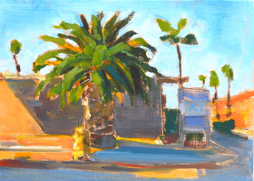 Ocean Beach Plein Air Painting San Diego