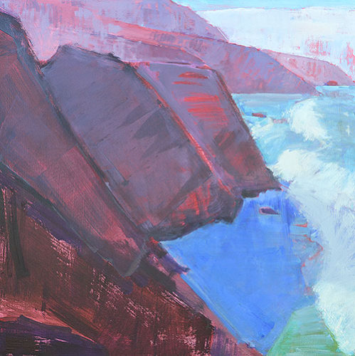 Big Sur California Landscape Oil Painting by Kevin Inman
