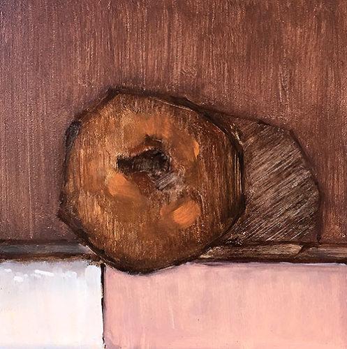 Cinnamon Cake Donut Painting