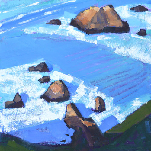 Big Sur Garrapata California Central Coast Painting
