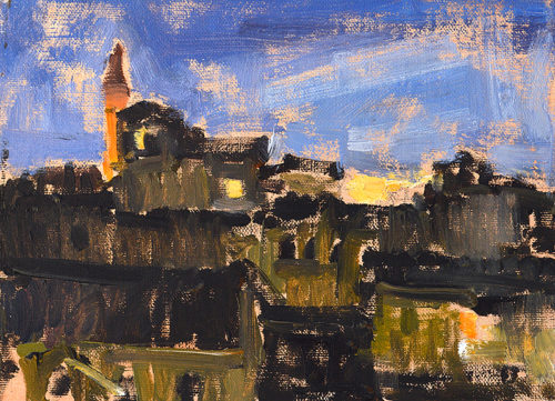Florence Italy Cityscape Painting Plein Aire