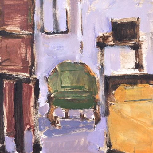Interior, Venice, Italy Painting