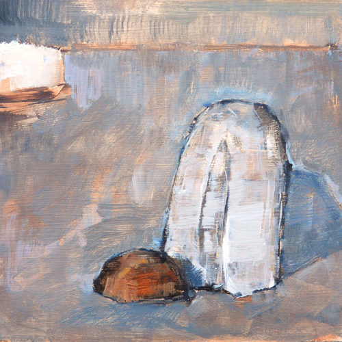Baguette Still Life Painting by Kevin Inman