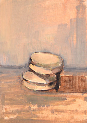 Macaron Still Life Painting by Kevin Inman