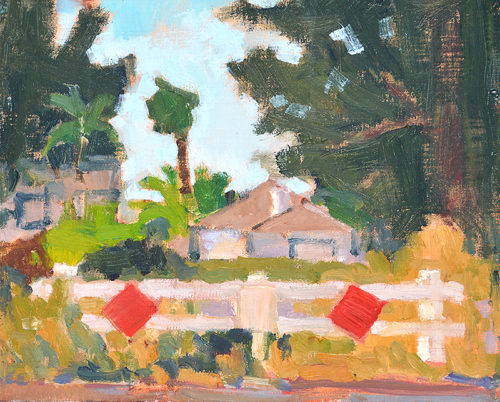 South Park San Diego Plein Air Painting