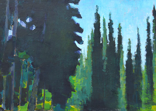 McCall Idaho Landscape Painting Original Oil by Kevin Inman