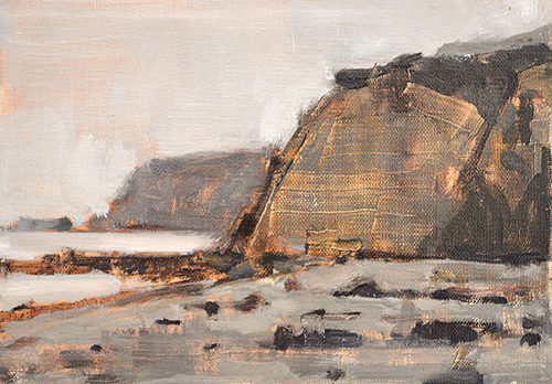 Blacks Beach San Diego California Painting