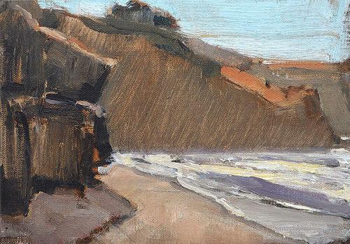 La Jolla Beach Painting