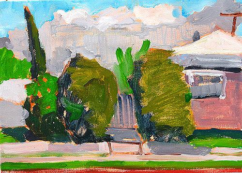 San Diego Plein Air Landscape Painting
