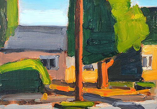 San Diego Plein Air Landscape Painting by Kevin Inman