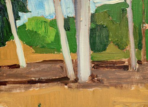 Eucalyptus Grove San Diego Painting