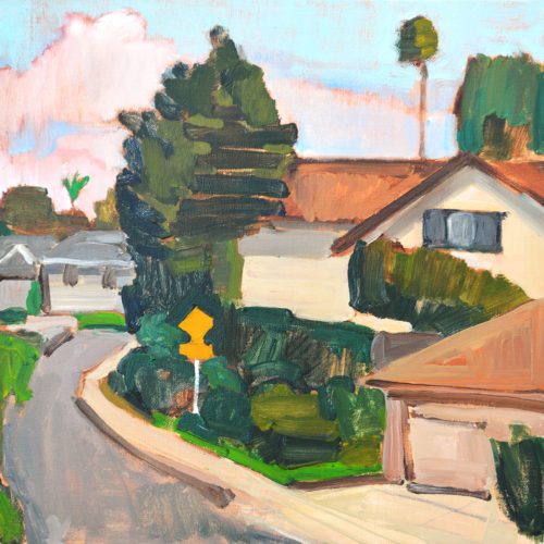 Suburb Painting San Diego by Kevin Inman