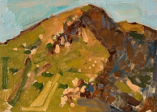 Mission Trails Landscape Painting San Diego Kevin Inman