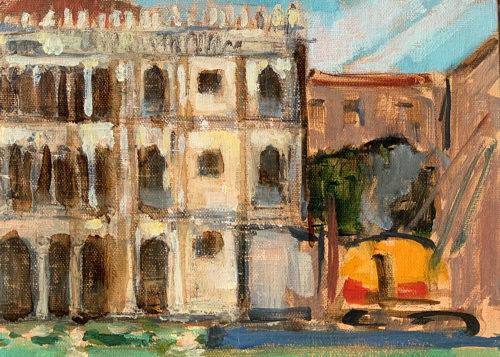 Ca d' Oro Painting Venice Italy