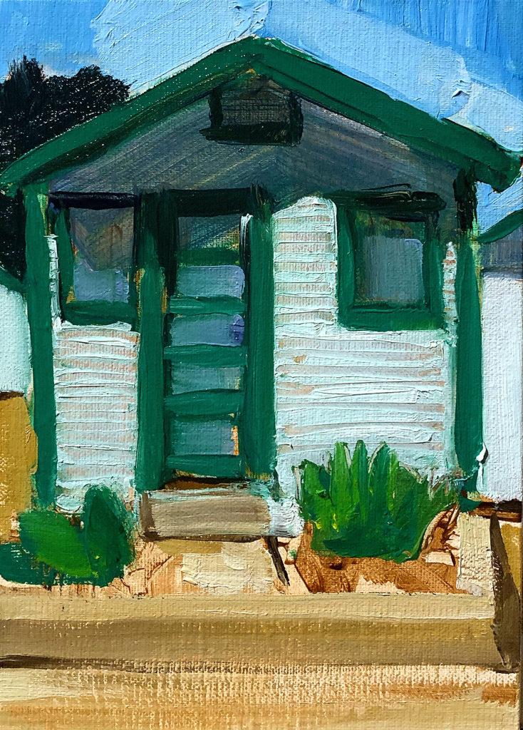 Cottage Ocean Beach San Diego Painting