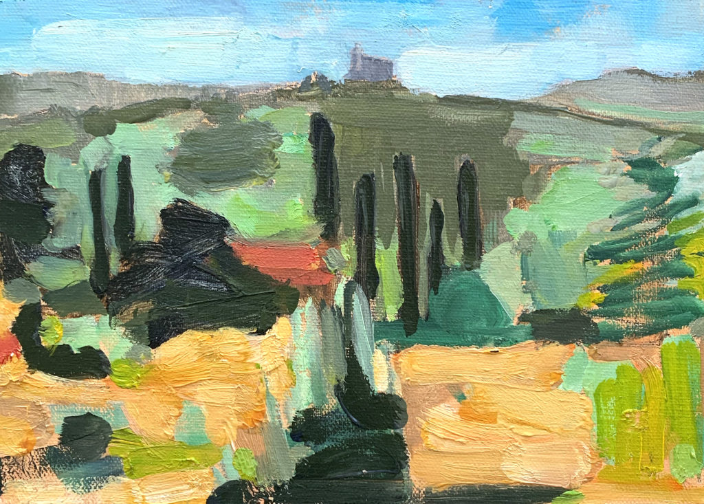 Tuscany Painting by Kevin Inman