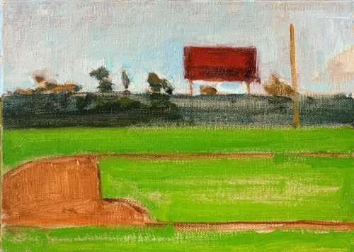 Ball field painting
