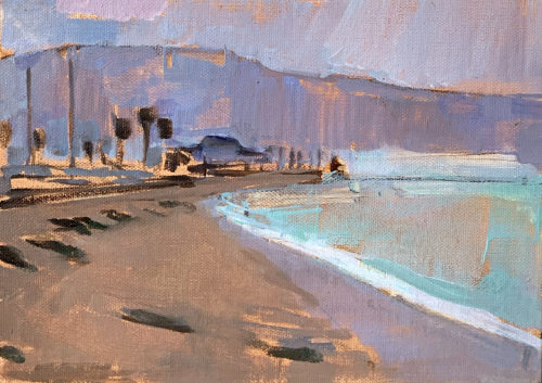 West Beach Santa Barbara Painting