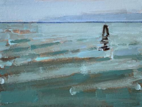 Venetian Lagoon painting by Kevin Inman