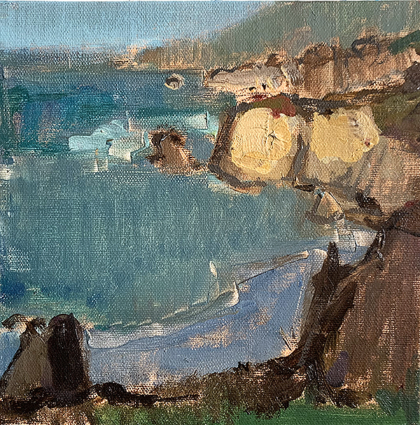 Big Sur painting by Kevin Inman