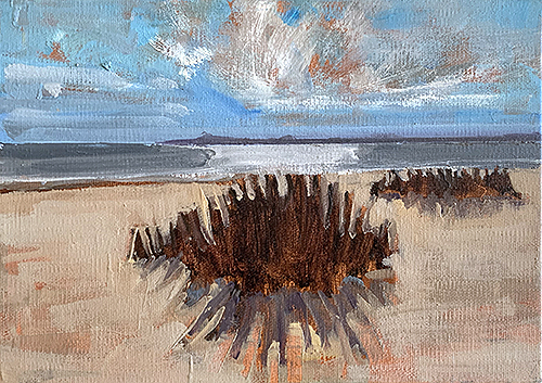 Sullivans Island South Carolina painting by Kevin Inman